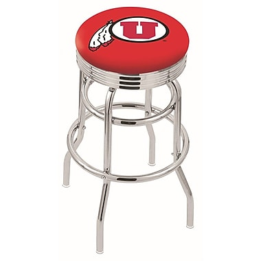 Holland Bar Stool NCAA Swivel Bar Stool; Utah Utes