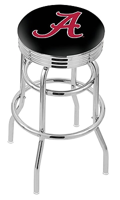Holland Bar Stool NCAA Swivel Bar Stool; Alabama Crimson Tide WYF078279504103