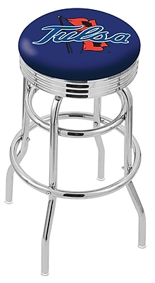 Holland Bar Stool NCAA Swivel Bar Stool; Tulsa Golden Hurricane WYF078279504106