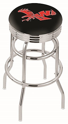 Holland Bar Stool NCAA Swivel Bar Stool; Eastern Washington Eagles WYF078279504113