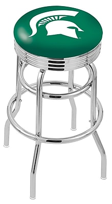 Holland Bar Stool NCAA Swivel Bar Stool; Michigan State Spartans WYF078279504123