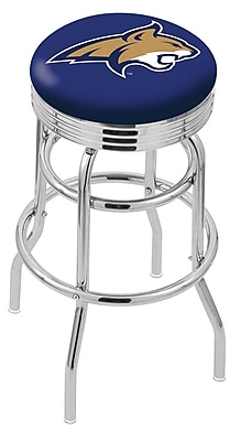 Holland Bar Stool NCAA Swivel Bar Stool; Montana State Bobcats WYF078279504128