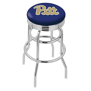 Holland Bar Stool NCAA Swivel Bar Stool; Pittsburgh Panthers