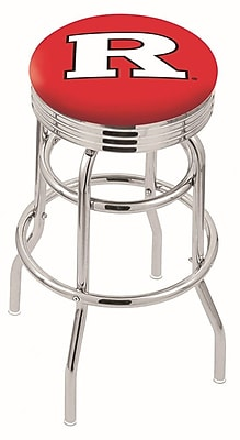 Holland Bar Stool NCAA Swivel Bar Stool; Rutgers Scarlet Knights WYF078279504137