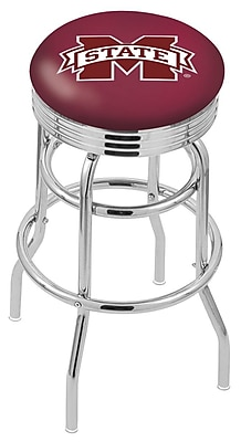 Holland Bar Stool NCAA Swivel Bar Stool; Mississippi State Bulldogs WYF078279504140