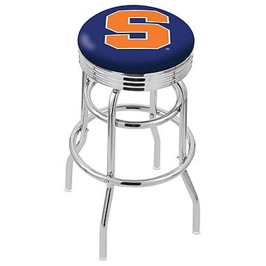 Holland Bar Stool NCAA Swivel Bar Stool; Syracuse Orange
