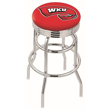 Holland Bar Stool NCAA Swivel Bar Stool; Western Kentucky Hilltoppers