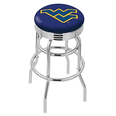 Holland Bar Stool NCAA Swivel Bar Stool; West Virginia Mountaineers