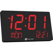 Avalon Oversized LED Digital Desk/Wall Clock