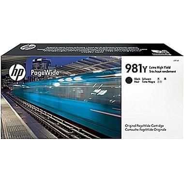 HP - Cartouche PageWide originale 981Y, très haut rendement, noir (L0R16A)