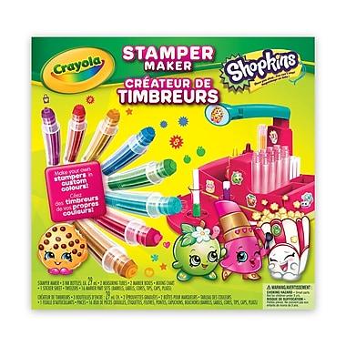 Crayola Shopkins Stamper Marker Maker