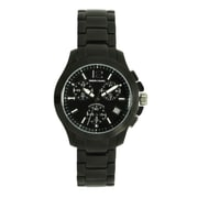 Simon Chang Exclusive Collection Watch, Unisex, Black (SC130.9 BLK)