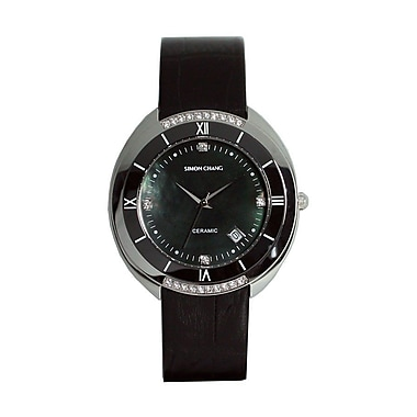 Simon Chang – Montre exclusive de la collection Star, unisexe, noir (SC174.2 BKL)