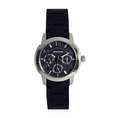Simon Chang Exclusive Star Collection Watch, Unisex, Black (SC179.2 BLK)