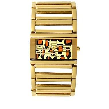 Simon Chang Exclusive Collection Watch, Unisex, Leopard (SC187.8 LEO)