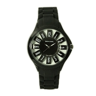 Simon Chang – Montre exclusive de la collection Star, unisexe, noir (SC198.13 BLK)