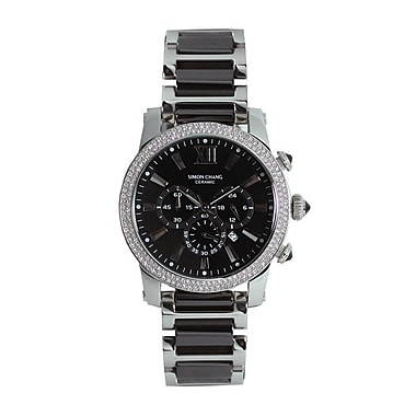 Simon Chang Exclusive Collection Watch, Unisex, Black (SC229.4 BLK)