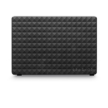 Seagate® - Disque dur de table externe STEB8000100 Expansion™, USB 3.0, 8 To, noir