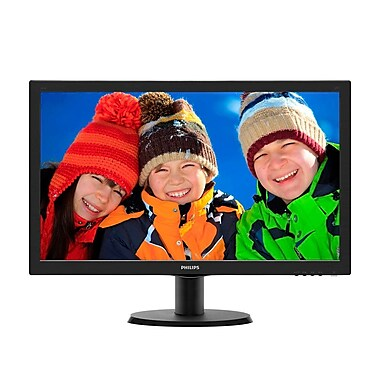 Philips - Moniteur HDMI 1ms à DEL 243V5LHSB, 23,6 po