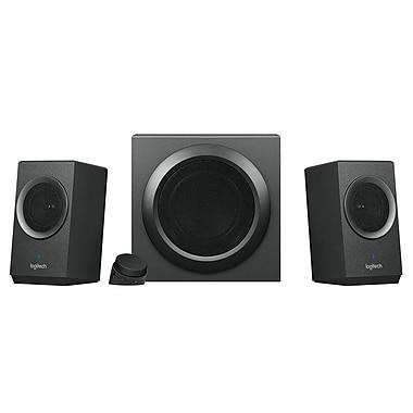 Logitech – Système de haut-parleurs d'ordinateur 2.1 Z337 avec Bluetooth, (980-001260)