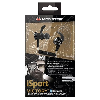 Monster 137085-00 iSport Victory Wireless In-ear Headphones
