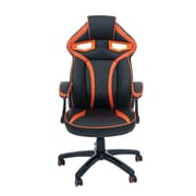 Merax High-Back Executive Chair; Orange