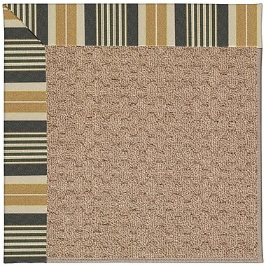 Capel Zoe Grassy Mountain Machine Tufted Indoor/Outdoor Area Rug; Square 6'