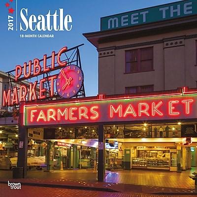 2017 Seattle 12x12 Calendar (9781465094889) 2452596