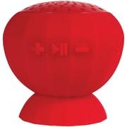 Lyrix 09257-pg Jive Water-resistant Bluetooth® Speaker (red)