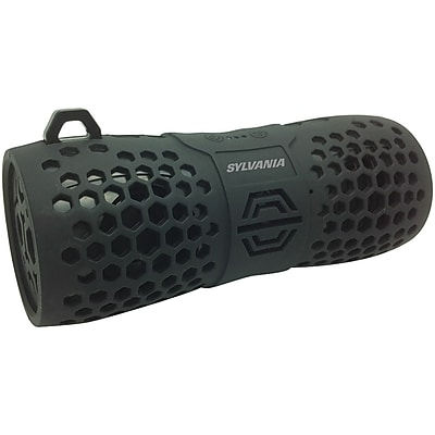 Sylvania Sp332 -black Water-resistant Portable Bluetooth® Speaker (black)