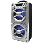 Sylvania Sp328-silver Bluetooth® Speaker With Speakerphone (silver)