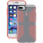 SPECK 79242-B994 iPhone® 7 Plus CandyShell® Grip Case (Nickel Gray/Warning Orange)