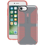 SPECK 79239-B994 iPhone® 7 CandyShell® Grip Case (Nickel Gray/Warning Orange)