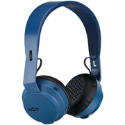 HOUSE OF MARLEY EM-JH101-NV Rebel Bluetooth® On-Ear Headphones with Microphone  (navy)