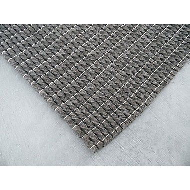 Modern Rugs Tides Gray Area Rug; Rectangle 6' x 9'