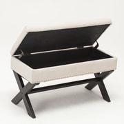Best Quality Furniture Storage Bedroom Bench; Beige