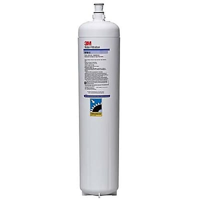 3M ICE190-S Replacement Water Filter Cartridge with Scale Inhibitor, 54,000 Gallon, White, 23.625