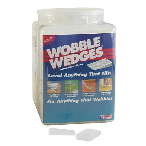 Wobble Wedge White Wobble Wedges, 300/CT (300)