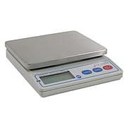"Detecto Digital Portion Scale 4 Lbs. Silver 5 9/10"" W x 6 7/10"" D x 1 1/2"" H"