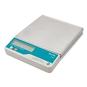 "Taylor Precision Digital Scale, 22 lbs., Silver, 2.8"" L X 8.5"" W X 112.25"" H"