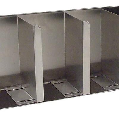 Carlisle 4 Compartment Lid and Straw Dispenser (388804L)