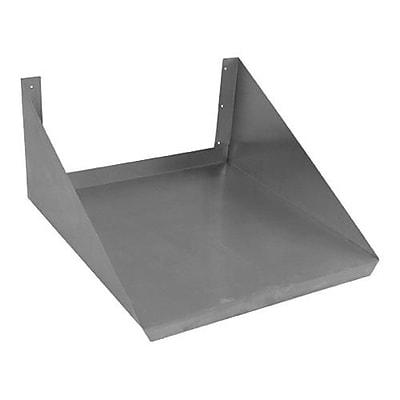 Elkay SSP Stainless Steel Microwave Oven Shelf, 24