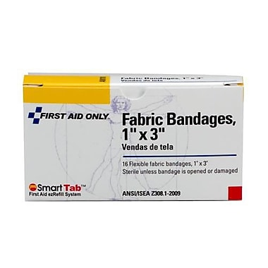First Aid Only® Fabric Bandage, 1