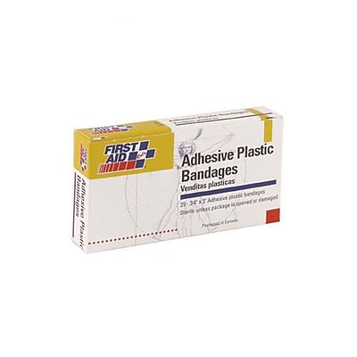 First Aid Only® Adhesive Bandages, 3/4