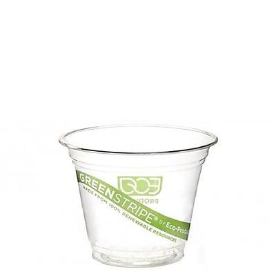 Eco-Products 9 Oz. GreenStripe Cold Corn Cups,