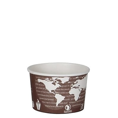 Eco-Products 8 Oz. World Art Soup Containers, 1000/Pack (EP-BSC8-WA)