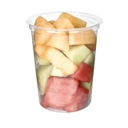 """Eco-Products 32 Oz. PLA Round Deli Containers, 4 5/8"""" Dia x 5 1/2"""" H, Transparent, 500/Pack (EP-RDP32)"""