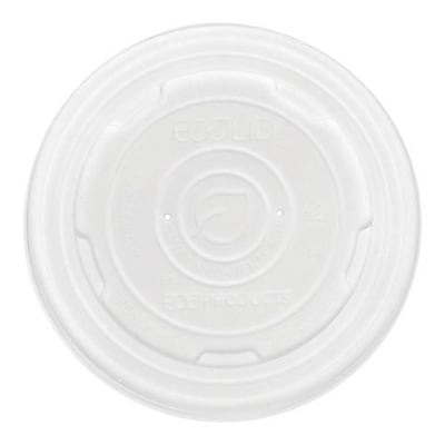 Eco-Products 12-32 Oz. EcoLid™ Soup Cup Lids, White, 500/Pack (EP-ECOLID-SPL)