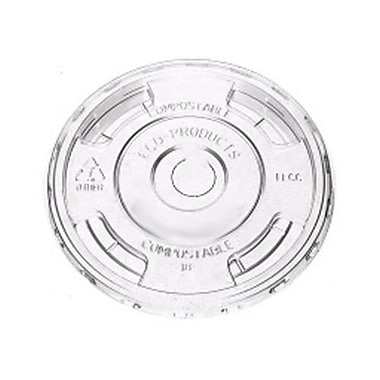 Eco-Products BlueStripe™ Cold Cup Lids Convenience Pack, Clear, 100/Pack (EP-CRFLPK)