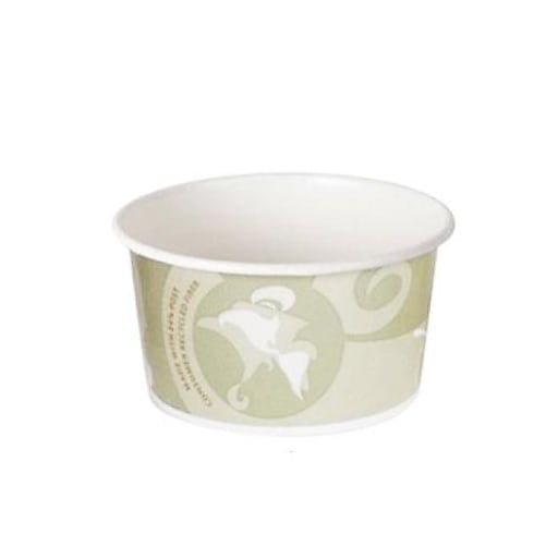 Eco-Products 12 Oz. Hot and Cold Food Containers, Green, 500/Pack (EP-BRSC12-EW)